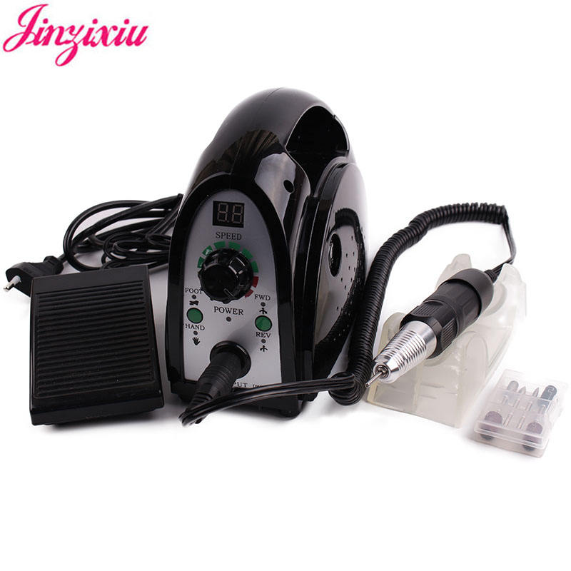 High quality electric 35000 rpm manicure nail drill machine professional 35000rpm pedicure drill tools