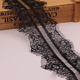 black lace trim sewing crochet lace for lingerie women underwear,Eyelash lace trim