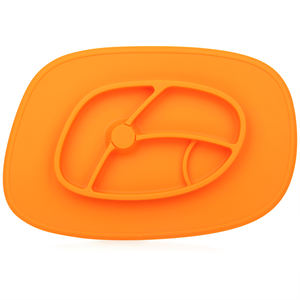 Hot sale adsorb kids BPA free silicone thermal food divider plate