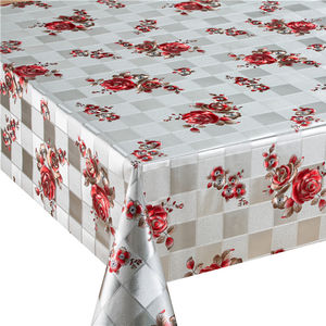 Gold PVC Table Cloth with woven backing