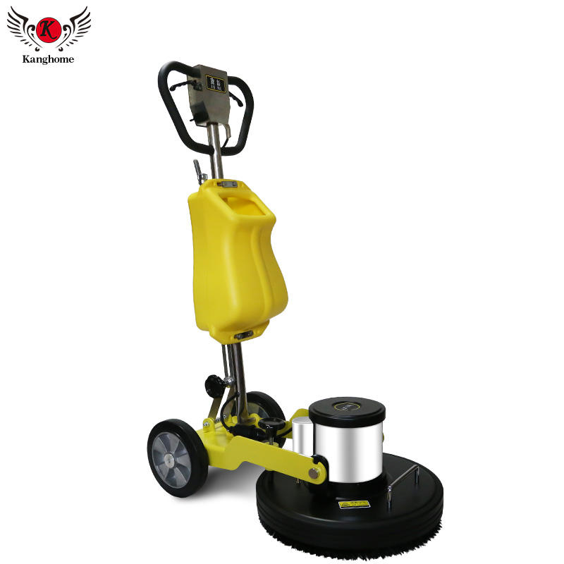 High quality 175rpm 1800W multi-functional floor burnisher tile carpet cleaning machine with 20-inch brush base plate disc