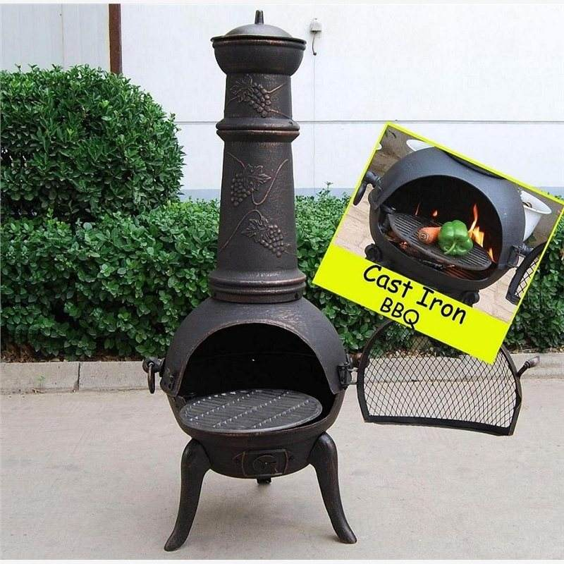 2014 ताजा आइटम lowes chiminea