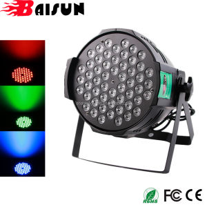 Hot Sale in India BaiSun LED Party Lights LED Par 54 Lights RGB 3IN1 Par Can Lights for Disco