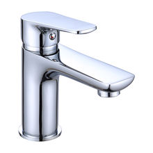 2020 New Design Deck Mounted Single Handle Brass Wash Basin Faucet For Bathroom