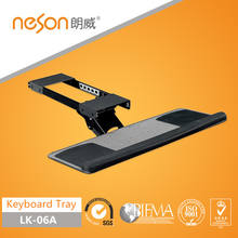 Neson adjustable computer keyboard tray with ball bearing slide