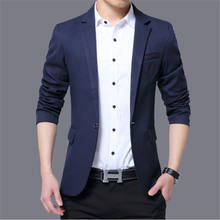 2019 men's fashion Slim  jacket suits men's business casual clothing