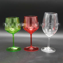 Wholesale high quality red wine /champagne plastic cup for bar