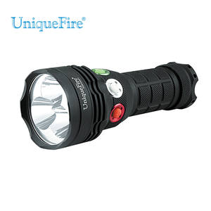 UniqueFire usb led camping cahaya torch 3 warna senter set