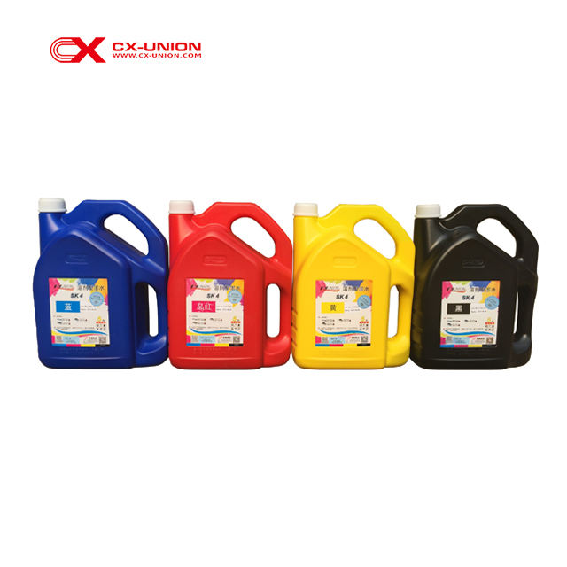 Solvent based flex printing ink sk4 for infiniti challenger phaeton digital printing machine