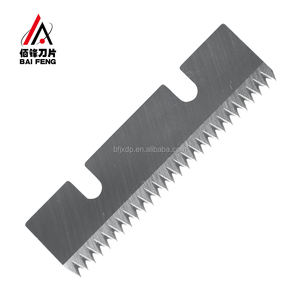 China Factory Long Serrated Cutting Blade For Plastic Film