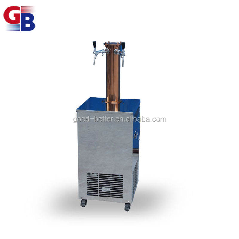 GB102029 Hot selling integrated type two way upright beer cooler