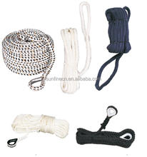POLYESTER OR PP ANCHOR ROPE/DOCK LINE/MOORING ROPE
