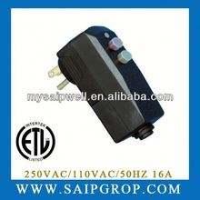 UL Zertifikat poliermaschine <span class=keywords><strong>gfci</strong></span> elektrische stecker & buchsen 10A 15A 20A