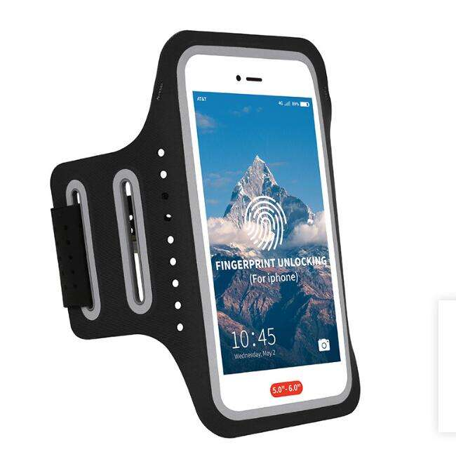 Waterproof touch window bicycle mobile phone case