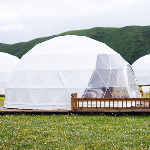 Diameter 6M Half Sphere Geodesic Dome Tent for Camping