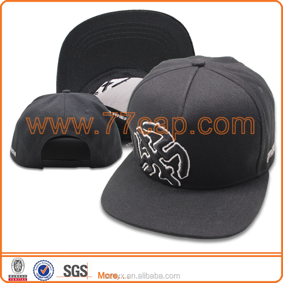 2016 OEM Fashion 3D Embroidery Flat Brim 5 Panel Baby Hat Snapback Cap