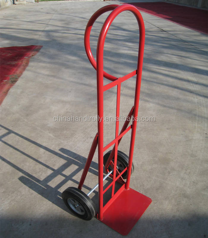 factory cart industrial wheels pull wagon loading steel tray trolley