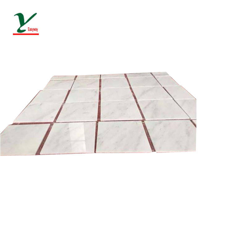 Flexible Marble Tiles White and Grey Vein Chinese Marble Prices carrara Marble tile