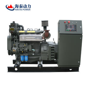 water cooled small marine diesel generator at factory price