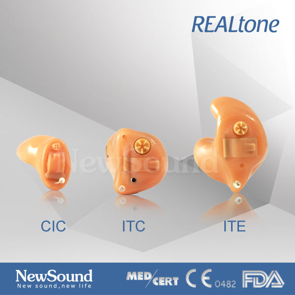 Best Class D CIC Analog Internal Customized Hearing Aid
