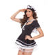 Lynmiss Plus Women Sexy Late Nite Maid Costume Servant Cosplay Sexy Women Dress Exotic Apparel Maid