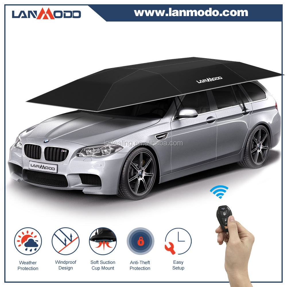 2018 Patent holder Lanmodo automatic folding outdoor car tent shelters