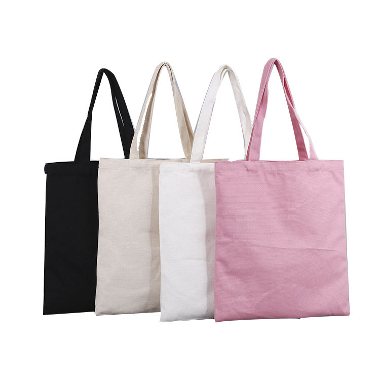 Wholesale Eco-friendly Cotton Tote Bag Blank Custom Print Shopping Canvas Tote Bag