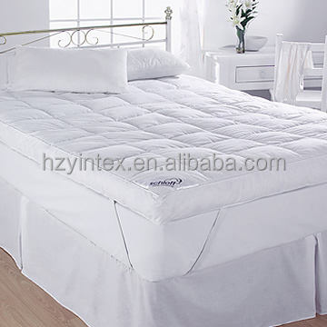 Antiallergic Goose Feather Mattress Topper For Home