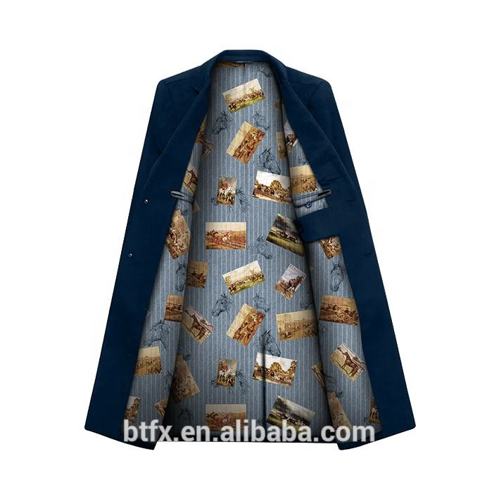 Factory Direct Digital Print 100% Rayon Woven lining for tailored suit lining fabric