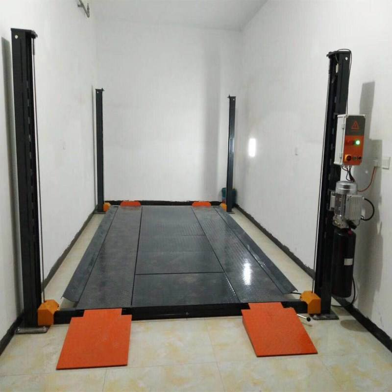 Auto lift car -park 4 post car parking lift manufacturer in China