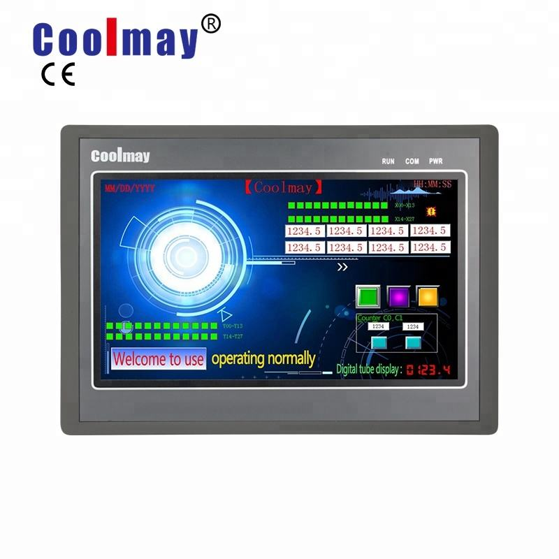 Coolmay EX3G series HMI/PLC all in one Modbus protocol USB and Ethernet port optional
