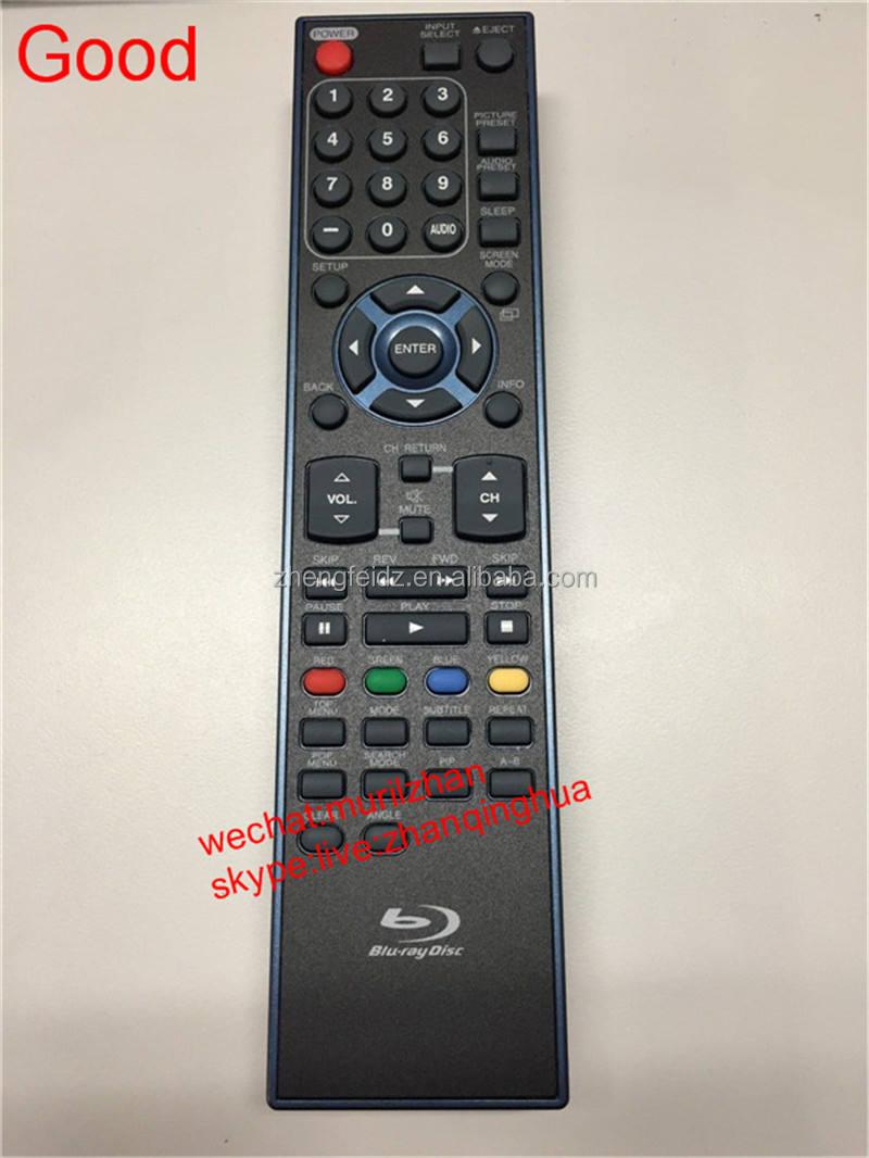 Haute qualité noir 53 touches blu - ray Disc SYLVANIA LCD TV DVD COMBO télécommande NF035UD pour LD427SSX batteries
