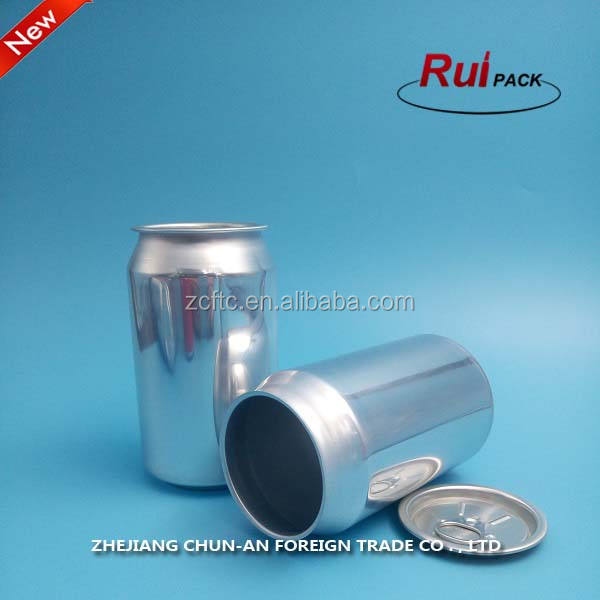 Personal Care Can Empty Hot Sale Empty Aluminum Jars Containers / 250ml 330ml 500ml Aluminum Beer And Beverage Packaging Cans