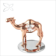 Crystocraft Rose Gold Plated Metal Camel with Crystals from Swarovski Dubai Souvenir Figurines