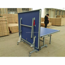 Professional Portable folding leg ping pong table champion sports anywhere table tennis set