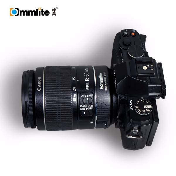 Commlite for Canon EF Lens to Micro Four Thirds Lens Mount Adapter with Auto Focus