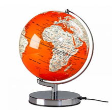 Colorful Designed Illuminated World Globe