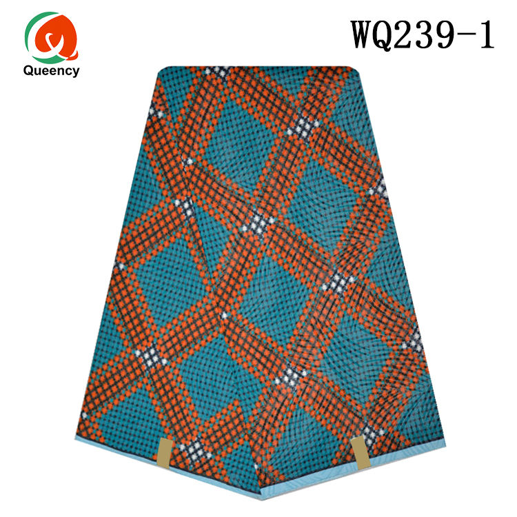 Queency African Traditional Wear Ankara Print By The Yard Wholesale African Wax Print Fabric