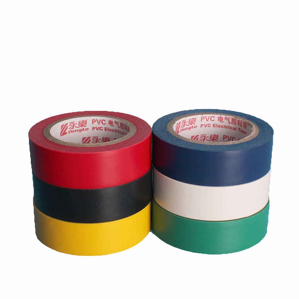 Decoration Colorful PVC Electric Tape Insulation Tapes