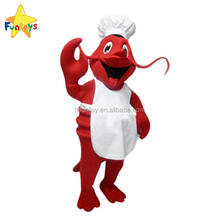 Funtoys CE Custom Chef Lobster Mascot Costume Adult