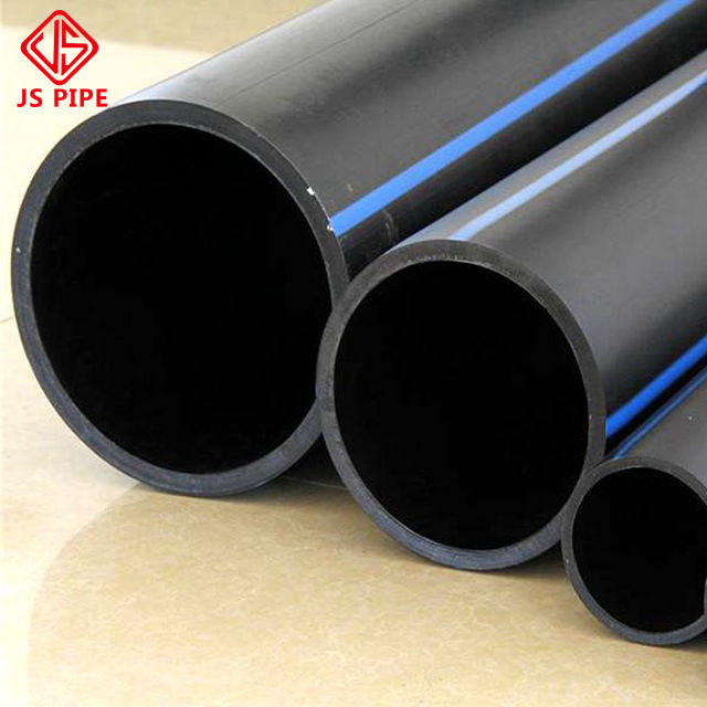 8 inch pe plastic pipe hdpe tube for water supply
