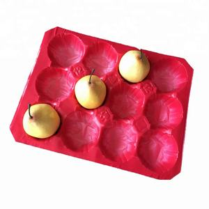 Pomegranate Packaging 29x39cm Disposable Blister Fruit Plastic Tray