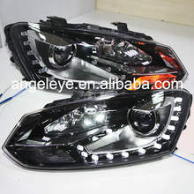 2011-2013 year For Cross Polo LED Head Light DRL with Bi Xenon Projector Lens SY