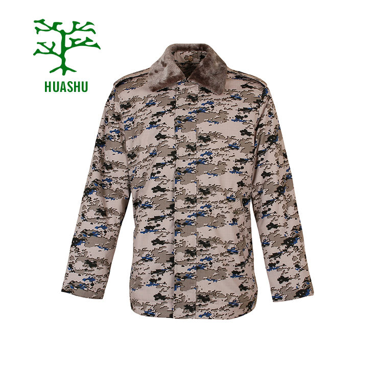 Mideast uniform supplier camouflage military clothes jacket