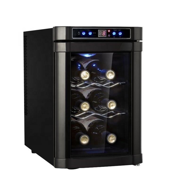 20L 8 bottles thermoelectric mini wine glass chiller