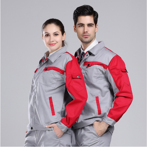 OEM service 100% Cotton corporate industrial spa uniform for workers