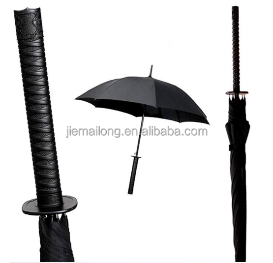 sword umbrella/samurai umbrella/katana umbrella supplier real katana sword handle umbrella