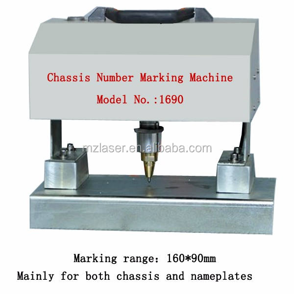 vehicle chassis number engraving machine number and letter punch machine
