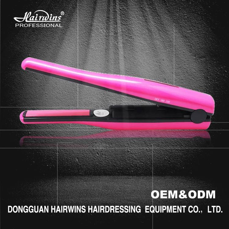 Korean battery powered operated mini protein wireless rechargeable cordless hair straightener flat iron