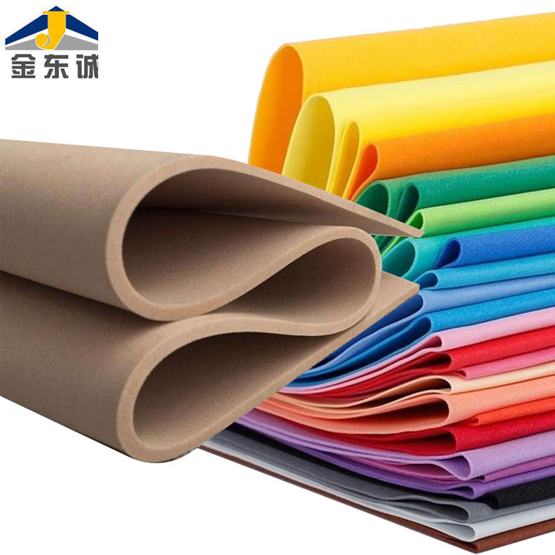 IDEASTEP custom 1cm thickness rubber eva foam sheet of insole/EVA Sheet Material